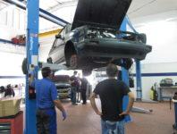 תמונת מגמת רכב- מעבדת רכב