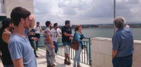 סטודנטים ממגמת מים בסיורים מקצועיים