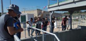 מגמת טכנולוגיה ומים – סיור במתקן התפלה ובמרכז ההדרכה של חברת א.ר.י בכפר חרוב.