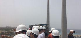 סיור שנה ב' מגמת אנרגיה וגז טבעי לתחנת הכוח חדרה 1.5.18