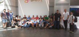 סיור מגמת תוכנה בחברת אמדוקס ברעננה 23.5.18